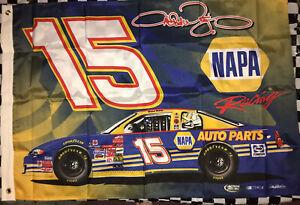 Nascar Racing Michael Waltrip #15 Napa. 2.5 x 4.5 Flag. B.S.I Products Inc.