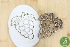 Frucht Weintraube Keksstempel/Ausstechform keksausstecher PLA ca.8cm