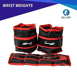 1/2/3/4/5/6 KG Adjustable Ankle/ Wrist/ Leg Weights Training Fitness Gym Sandbag