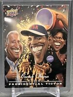 2008 Upper Deck Presidential Predictors Barack Obama #PV-1 🗳️