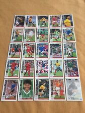 MINUTE MAID UPPER DECK WORLD CUP 94 COMPLETE PROMO SET 25 FOOTBALL CARDS 1994