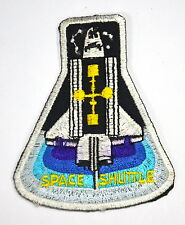SPACE SHUTTLE NASA ASTRONAUT  Embroidered Sew Iron On Cloth Patch APPLIQUE BADGE