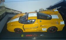 HOT WHEELS ELITE 1:18 FERRARI FXX #21 BAREITHER AMARILLO ARTE L7114