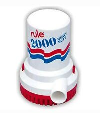Rule pump 2000 Gph Non-automatic Bilge Pump 10-6UL