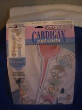 Daisy Kingdom Cardigan Cut-Outs Victorian Hankies No Sew
