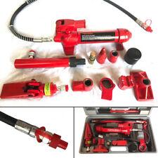 4 Ton Porta Power Hydraulic Jack Car Shop Autobody Frame Manual Repair Tool Kits