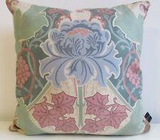 Liberty of London Burnham Art Nouveau Cushion Cover & Pink Velvet backing Fabric