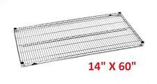 "METRO 14"" X 60"" SUPER ERECTA HEAVY-DUTY ADJUSTABLE WIRE SHELVING **XLNT**"