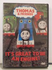THOMAS & FRIENDS~IT'S GREAT TO BE AN ENGINE~DVD, 2004~ORIGINAL CASE~60 MINUTES