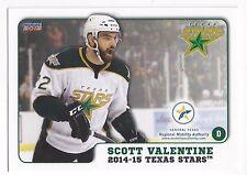 2014-15 Texas Stars (AHL) Scott Valentine (Augsburger Panther)