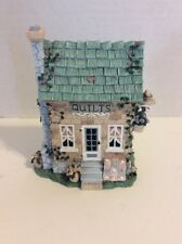 Ivy & Innocence Stitches In Time Quilt House Figure 05150 Collectible House