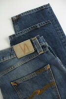 RRP €139 NUDIE STEADY EDDIE CLASSIC TUNE Men's W36/L32 Faded Blue Jeans 4800_mm
