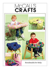 McCall's Sewing Pattern M5721 Babies Toddler Shopping Trolley & High Chair Cover