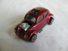 Vintage 1967-68 Mattel Hot Wheels Redline Red Rose Custom Volkswagen EX