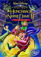 THE HUNCHBACK OF NOTRE DAME II (Disney)  - DVD - REGION 2 UK