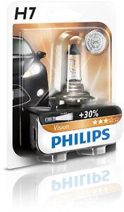 Philips H7 Vision +30% More Light 12V 55W 12972PRB1 (1 Pack)