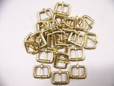 Leather Craft Buckles #50 Roller Buckle Solid Brass 1 Inch Size Quantity of 24