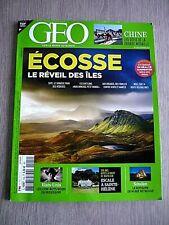 REVUE  GEO  N° 504 - FEVRIER  2021  /  ECOSSE , LE  REVEIL  DES  ÎLES