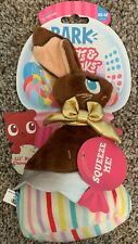 New listing Brand New Bark Box Lil' Bunny Chew Chew Sweets & Squeaks Xs-M Dog Toy Easter