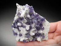 Fluorite and Calcite Crystals, Fujian Province, China