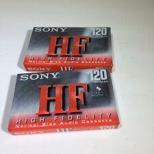 Sony High HF Fidelity 120 Cassette Tape - SEALED New