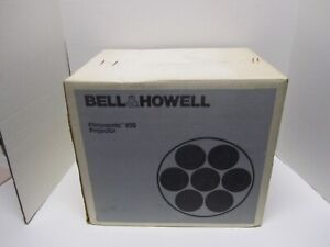 Vintage 1970's Bell & Howell Soundstar 1942LCZ Motion Sound Projector Super 8