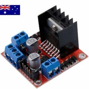 Dual H Bridge L298N DC Stepper Motor Driver Module Control Board Arduino AU