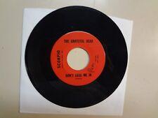 """GRATEFUL DEAD: Don't Ease Me In-Stealin'-U.S. 7"""" 1966 Scorpio 002/3-201 Original"""