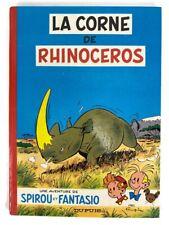 1970 Spirou et Fantasio La Corne du Rhinoceros 6 French Comics Hardcover