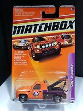 2010 MATCHBOX GMC WRECKER TOW TRUCK - C1