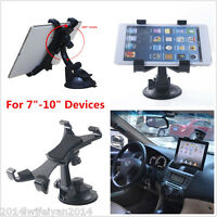 Rotating Windshield Car Mount Desk Suction Stand Holder For iPad/Laptop/Tablet