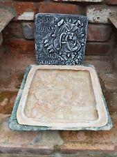 Latex fiberglass Mould Bulldog plaque