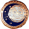 NATIVE AMERICAN TOTEM GEOCOIN - MOON - VARIOUS METALS - UNACT- NEW