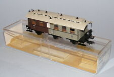 More details for fleischmann ho scale #5896 kpev 3rd/4th class 6-wheel coach mint boxed