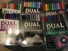 Tombow Dual Brush Pen sets Lot of 6!