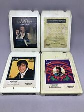 LOT 4 ELVIS 8 Track Cassette Tapes UNTESTED In Concert Friends Christmas Gold