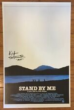 Kiefer Sutherland Signed Stand By Me 11x17 Movie Poster Certificate HOLO AUTO
