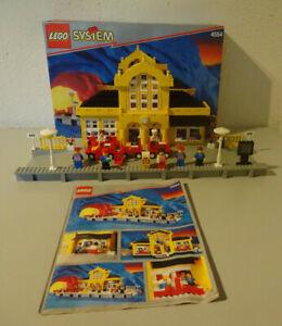 ( GO1 ) LEGO 4554  Metro Station Bahnhof Eisenbahn 100% KOMPLETT MIT OVP & BA