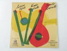 "LUCIANO TAJOLI / NUNZIO GALLO / SANDRO TUMINELLI - CHIQUILLO - 7"" ODEON SPAIN Q4"