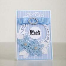 TLD0543 Tattered Lace snowglobe forma de tarjeta