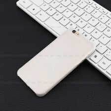 0.3mm Ultra Thin Clear Slim Matte Soft Back Case Cover Skin For iPhone 5 6 6plus