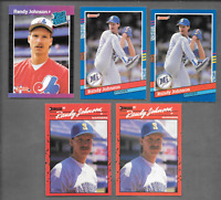 1989 DONRUSS #42 Randy JOHNSON Rookie & 1991 DONRUSS #134 Randy JOHNSON  Error +