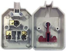 Materiales eléctricos de bricolaje blanco estándar