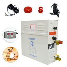 More details for 6kw st-60 steam generator sauna bath shower home steam with remoter controller
