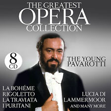 CD Pavarotti The Greatest Opera Collection von The Young Pavarotti  8CDs