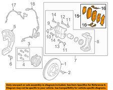 KIA OEM 16-17 Sportage Brake-Front Pads 58101D7A10