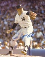 Jim Catfish Hunter Autographed Signed 8x10 Photo ( HOF Yankees ) REPRINT