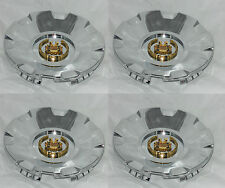 4 CAP DEAL VOGUE TYRE CADILLAC CTS STS WHEEL RIM GOLD CENTER CAP 99-03157 PWA