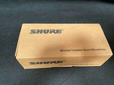 Shure MX395B/BI-LED Low Profile Boundary Mic Black Bi-Directional LED