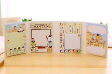 Sumikko Gurashi Notepad POLICE 04 Mini Note Pad 80sheets Note book Kawaii San- X